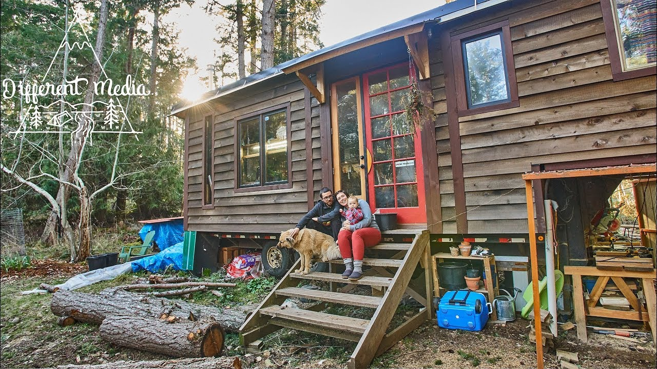 Tiny Home Tour Family Built Tiny House Built On A