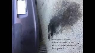 Nettoyage FAP Peugeot 307