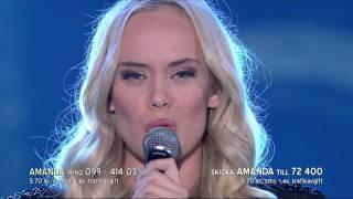 Amanda Winberg - Bed of lies - Idol Sverige (TV4)