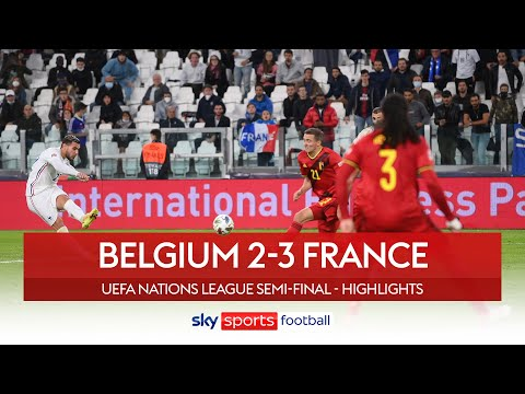 Hernandez strikes late to complete EPIC comeback! | Belgium 2-3 France | Nations League Highlights
