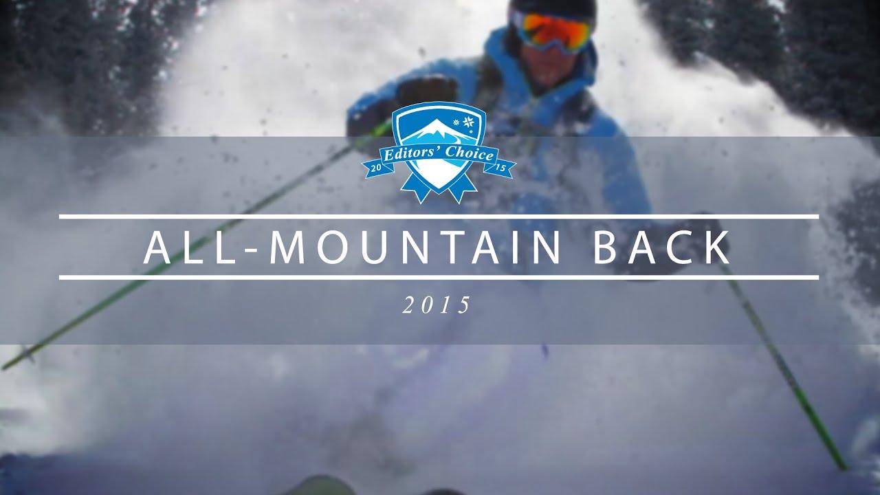 2015 Best Men's All-Mountain Back Skis