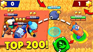 TOP 200 UNLUCKY PLAYERS IN BRAWL STARS!
