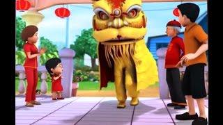 Upin & Ipin Terbaru Musim 11 - Selamat Tahun Baru Cina 'Gong Xi Fa Cai',