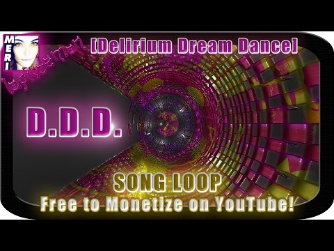 ☿ FREE MONETISATION SONG D.D.D. [Delirium Dream Dance] loopable | Synaesthesia | LapisDemon Meri