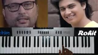 Hrudayat Vaje Something..   Piano cover  