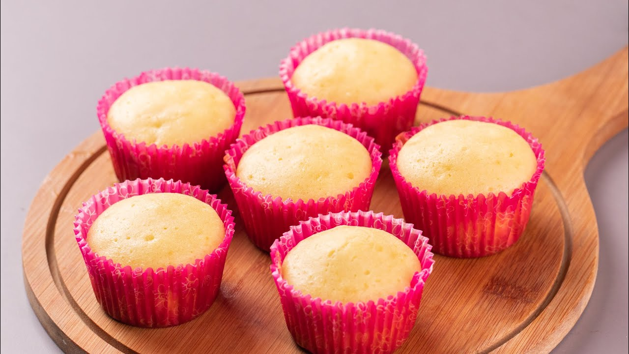 VANILLA CUP CAKE RECIPE | FLUFFY, MOIST, CUP CAKE RECIPE ...