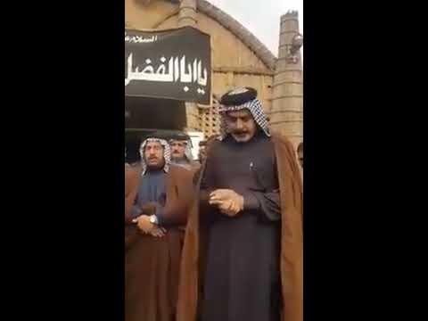 عند الشدائد تظهر معادن الرجال..صلابة الشيخ ستار جبار الزيرجاوي أبو محمد رغم مقتل ابنه