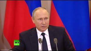 Путин: реакция американских СМИ на визит Лаврова в США — «политическая шизофрения»