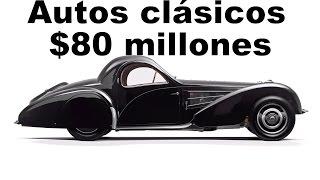 Top 5 autos clásicos más caros del mundo