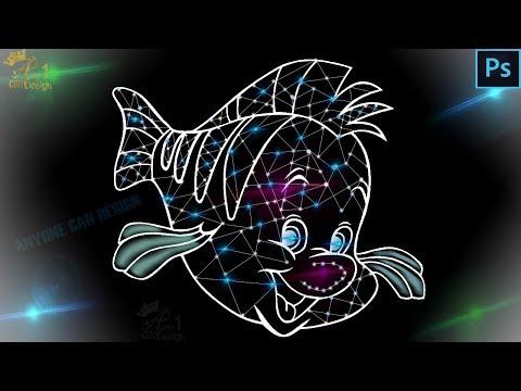 Galaxy fish effect | signing effect photoshop tutorial | PHOTOSHOP TUTORIAL thumbnail
