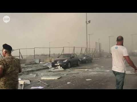 دمار هائل في العاصمة اللبنانية نتيجة انفجار مرفأ بيروت  - نشر قبل 7 ساعة