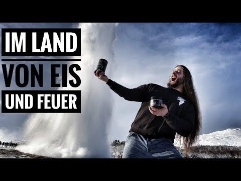 Das land von EIS und FEUER! - Island Tag 2