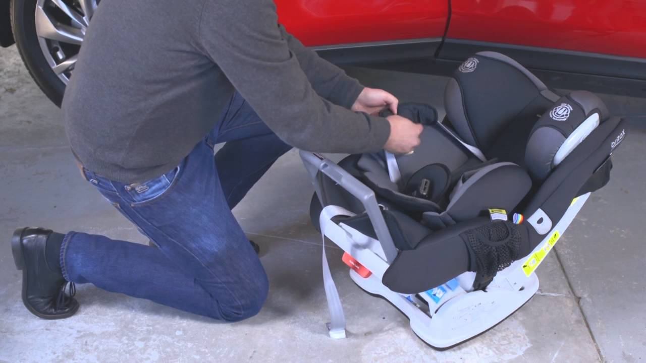 Britax Safe N Sound Platinum Pro Millenia Seat Belt Rear Facing