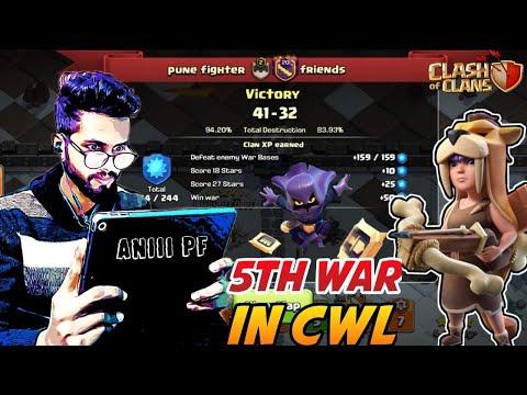 Best Sccwl War No.5 in New Clan with  @Sumit 007  | Clash of Clans