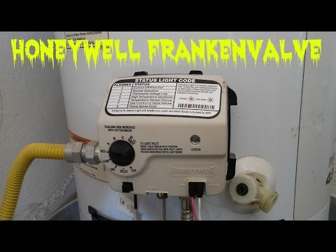 Water Heater Pilot Light Keeps Going Out  Honeywell Valve