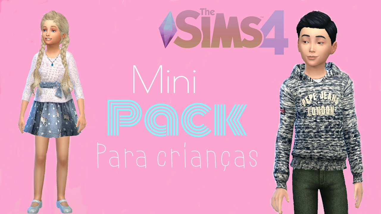 The sims 4 mini pack para crian as youtube for Mobilia para sims 4