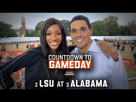 Countdown To GameDay: Week 11, LSU At Alabama | ESPN College Football