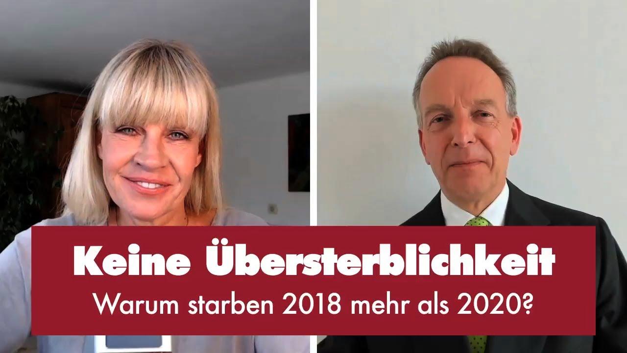 Prof. Homburg mit Zahlen des statistischen Bundesamtes zur Gesamtsterblichkeit in Deutschland