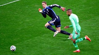 The Craziest Goalkeeper Saves In The WORLD CUP