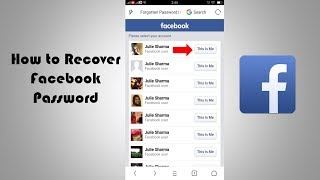 How to Recover Facebook Password On Mobile