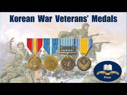 The Medals All Korean War Veterans' Earned And How To Display Them.