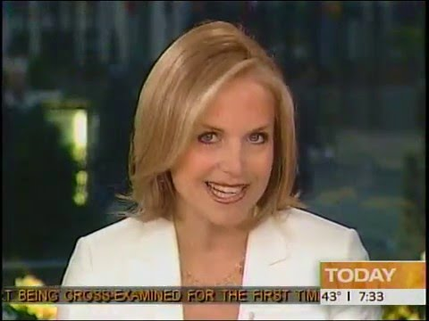 Katie Couric announces Today Show departure