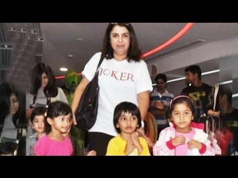 Farah Khan to celebrate triplets' birthday Mp3