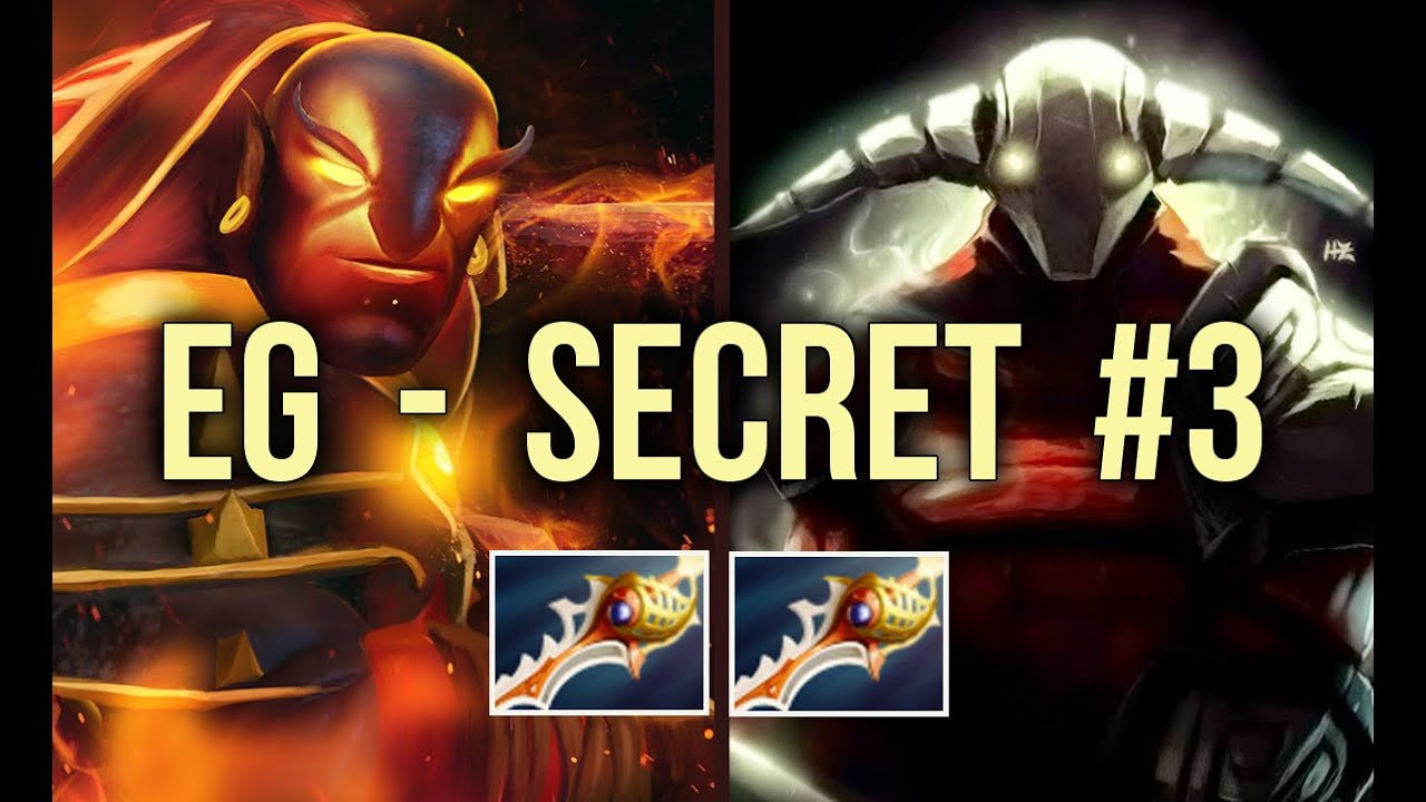 [EPIC] EG vs Secret Dota 2 Shanghai Major UB Game 3 - YouTube