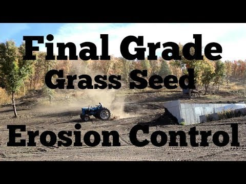 Check List, Final Grade, Grass Seed And Erosion Control