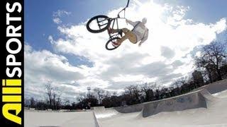 Tony Malouf describing DAR riding BMX in the parks + more, Alli Sports My 5