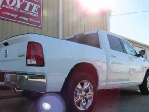 2016 Dodge Ram 1500 4x4 Crew Cab White Lone Star For Broken Bow Ok