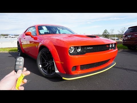 2020-dodge-challenger-r/t-scat-pack-widebody:-start-up,-exhaust,-test-drive-and-review