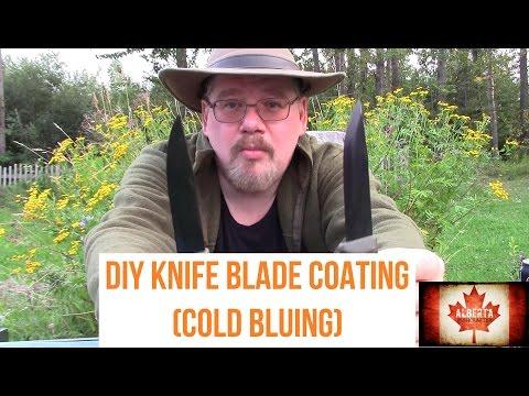 DIY Knife Blade Coating