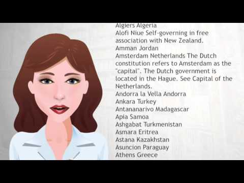 List of national capitals in alphabetical order - Wiki Videos