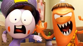 Funny Animated Cartoon | Spookiz Battle of the Classroom War 스푸키즈 | Cartoon for Children