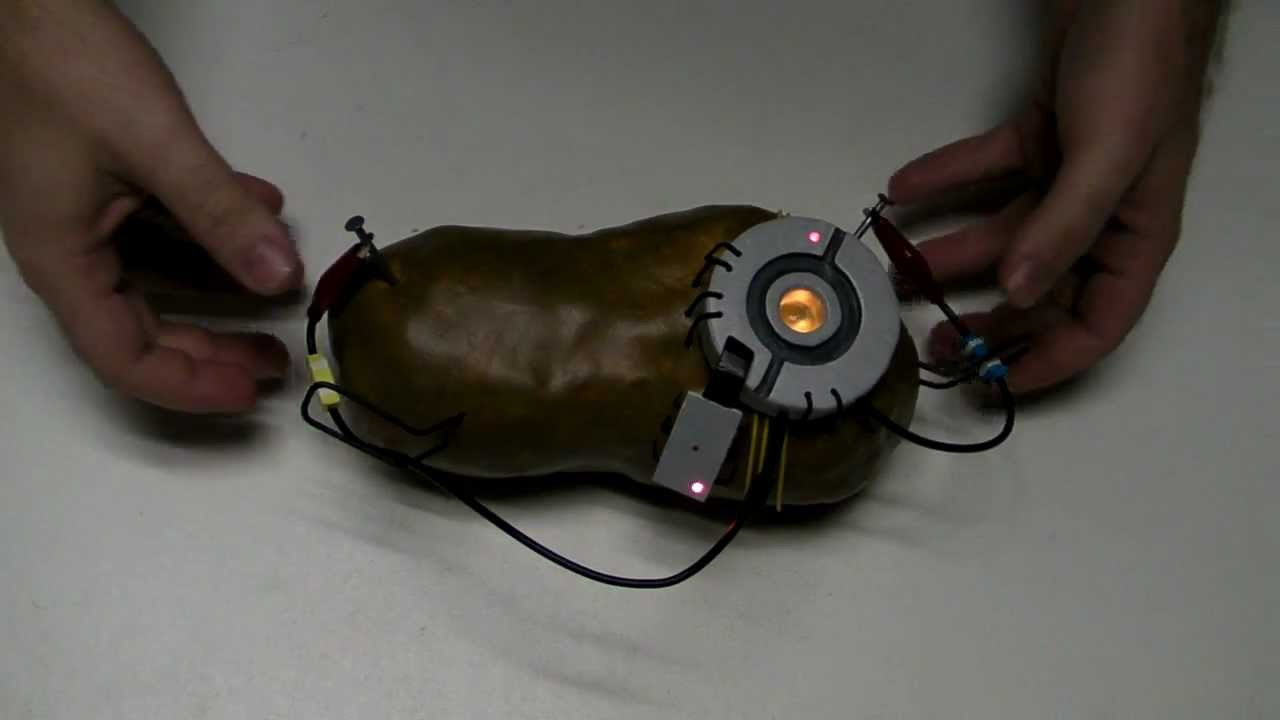 This Glados Potato Is A Lie Hackaday