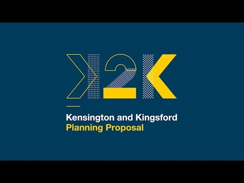 Kensington and Kingsford (K2K) Planning Strategy