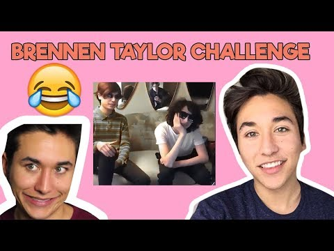 Brennen Taylor Outro Challenge Funny  COMPILATION #brennentaylorchallenge