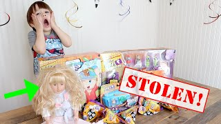 The Doll Maker is BACK! The Doll Maker STOLE HobbyKids Adventures Toys from My PB and J!