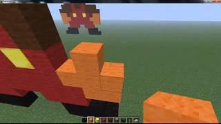 Mario Pixel Art Minecraft
