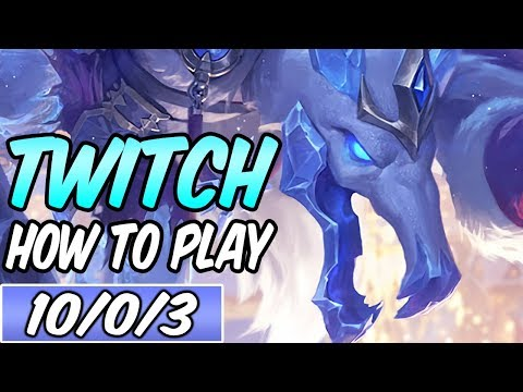 HOW TO PLAY TWITCH ADC | Best Build & Runes | Diamond Commentary | League Of Legends | S9