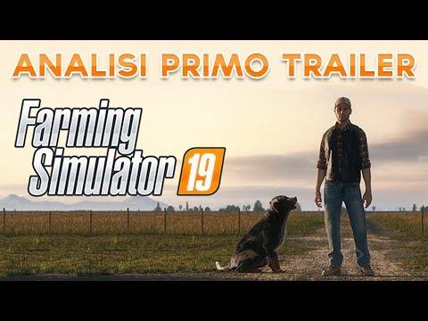 Farming Simulator 19 - Commento primo trailer CGI ITA - Live