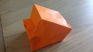 Tuto Origami Facile Boite