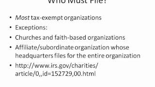 Form 990 Part 2: Who Must File, and What