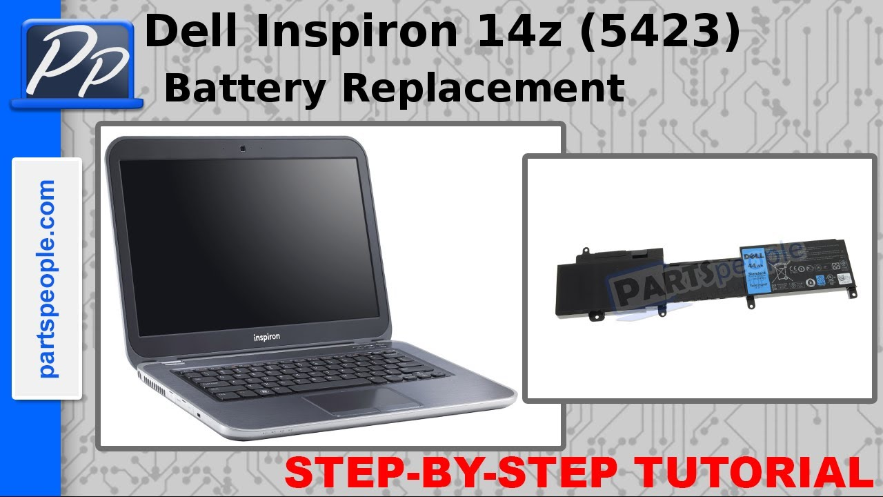 Dell Inspiron 14z 5423 Battery Video Tutorial Teardown Youtube