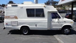 Chinook Rv Motorhome Class C Or B Rv Ford E350 Camper Special Concourse 20' 2 Owner