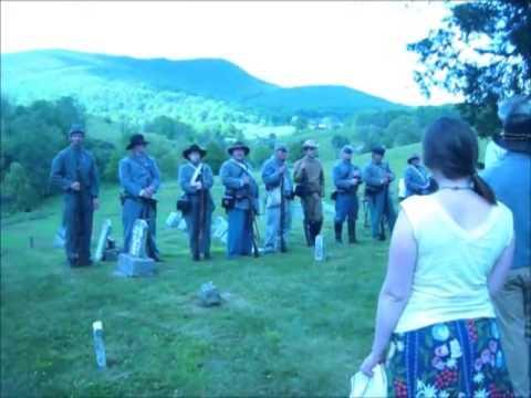 Confederate Grave Side Memorial Service