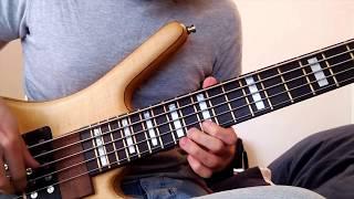 Polyphia - Culture Shock, guitar solo on bass