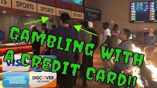 GAMBLING WITH A CREDIT CARD + NFL Bets in A.C (Gambling Vlog #26)