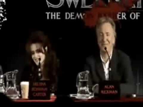 Fun with Johnny Depp , Tim Burton und Helena Bonham Carter